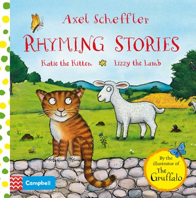 Book cover for Rhyming Stories: Katie the Kitten and...